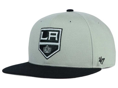 Los Angeles Kings '47 NHL '47 Gray Sure Shot Snapback Cap