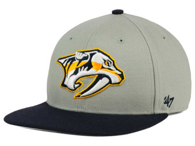 Nashville Predators '47 NHL '47 Gray Sure Shot Snapback Cap
