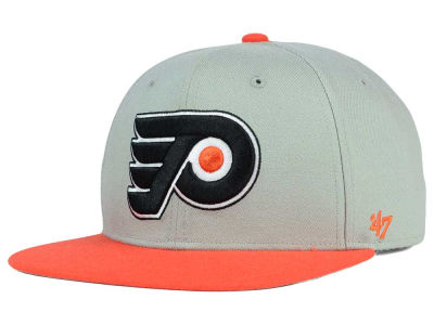 Philadelphia Flyers '47 NHL '47 Gray Sure Shot Snapback Cap