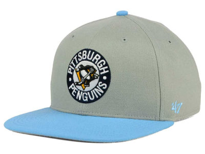 Pittsburgh Penguins '47 NHL '47 Gray Sure Shot Snapback Cap