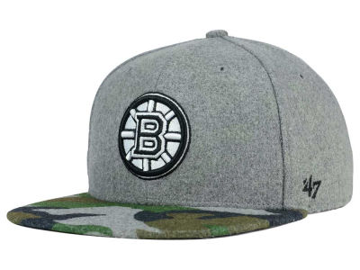 Boston Bruins '47 NHL '47 Backwoods Snapback Cap