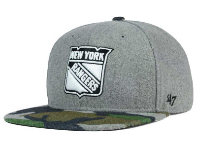 New York Rangers '47 NHL '47 Backwoods Snapback Cap
