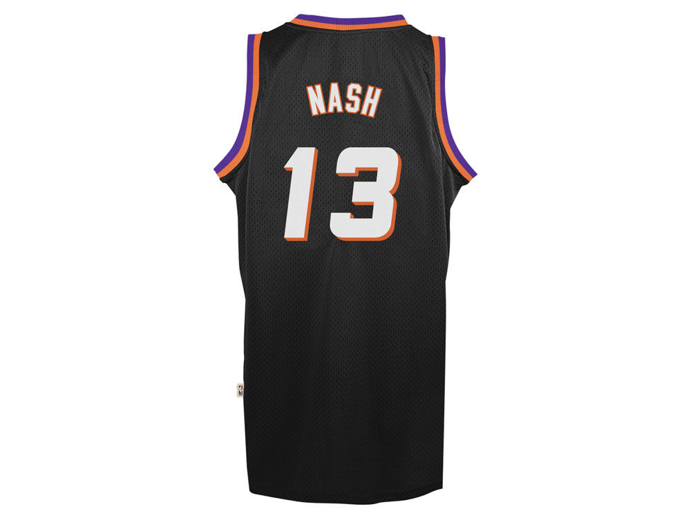 66c383602 Phoenix Suns Steve Nash adidas Originals NBA Men s Retired Player Swingman  Jersey