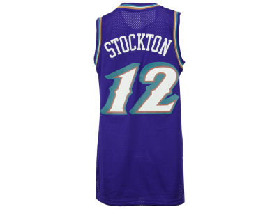 Utah Jazz John Stockton adidas Originals NBA Retired Player Swingman Jersey