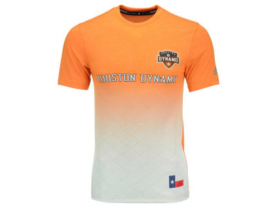 Houston Dynamo adidas MLS Men's Replica Jersey T-Shirt
