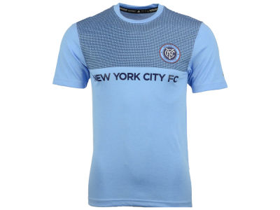 New York City FC adidas MLS Men's Replica Jersey T-Shirt