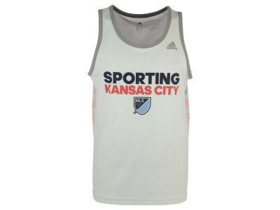 Sporting Kansas City adidas MLS Men's USA Performance Tank Top