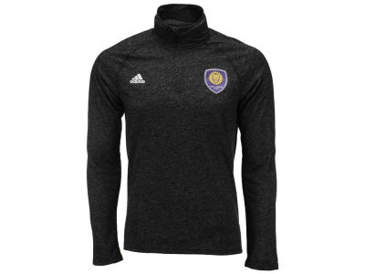 Orlando City SC adidas MLS Men's Crest Logo 1/4 Zip Pullover