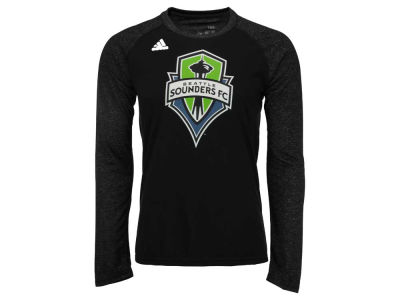 Seattle Sounders FC adidas MLS Men's Logo Sleeve Long Sleeve T-Shirt