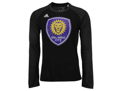 Orlando City SC adidas MLS Men's Logo Sleeve Long Sleeve T-Shirt