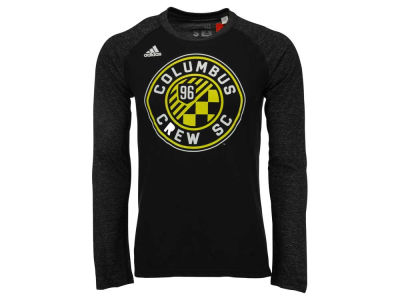 Columbus Crew SC adidas MLS Men's Logo Sleeve Long Sleeve T-Shirt