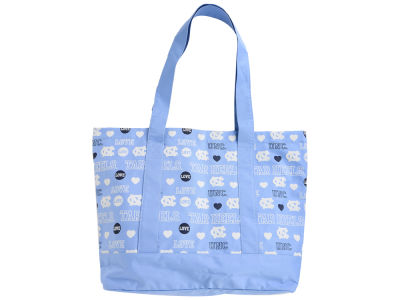 North Carolina Tar Heels Love Print Weekend Tote