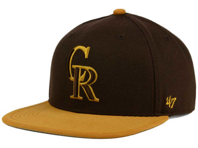 Colorado Rockies '47 MLB '47 Sutton Snapback Cap
