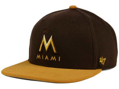 Miami Marlins '47 MLB '47 Sutton Snapback Cap