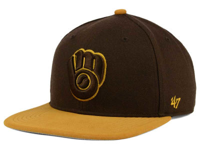 Milwaukee Brewers '47 MLB '47 Sutton Snapback Cap