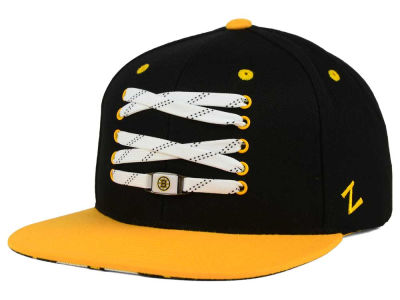 Boston Bruins Zephyr NHL Lacer Skate Snapback Hat