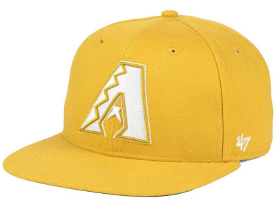 Arizona Diamondbacks '47 MLB '47 Wheat Sure Shot Snapback Cap