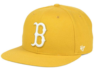 Boston Red Sox '47 MLB '47 Wheat Sure Shot Snapback Cap