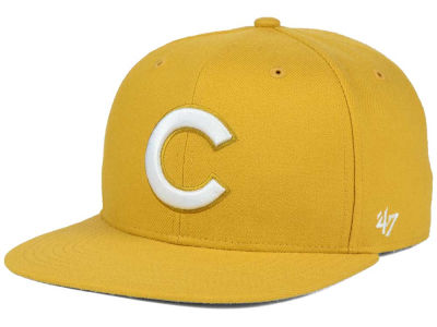 Chicago Cubs '47 MLB '47 Wheat Sure Shot Snapback Cap