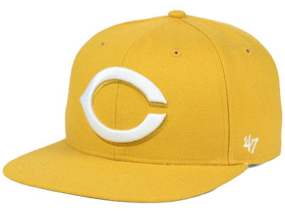 Cincinnati Reds '47 MLB '47 Wheat Sure Shot Snapback Cap