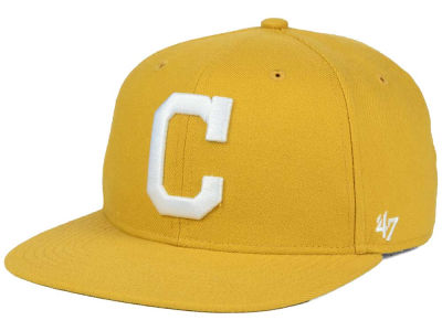 Cleveland Indians '47 MLB '47 Wheat Sure Shot Snapback Cap