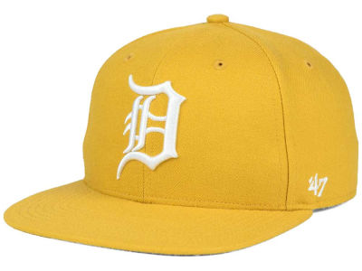 Detroit Tigers '47 MLB '47 Wheat Sure Shot Snapback Cap