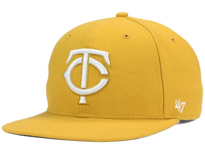 Minnesota Twins '47 MLB '47 Wheat Sure Shot Snapback Cap
