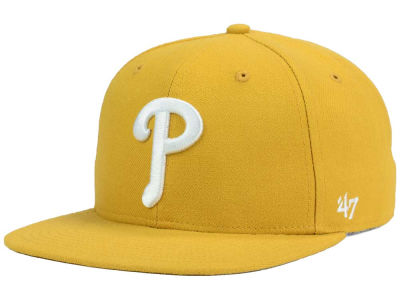 Philadelphia Phillies '47 MLB '47 Wheat Sure Shot Snapback Cap