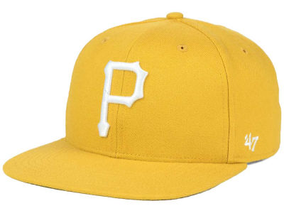Pittsburgh Pirates '47 MLB '47 Wheat Sure Shot Snapback Cap