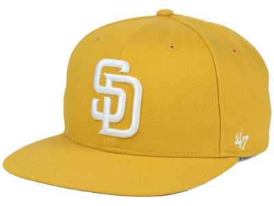 San Diego Padres '47 MLB '47 Wheat Sure Shot Snapback Cap