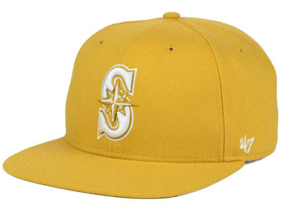 Seattle Mariners '47 MLB '47 Wheat Sure Shot Snapback Cap