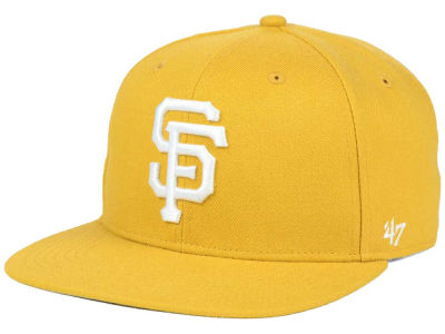 San Francisco Giants '47 MLB '47 Wheat Sure Shot Snapback Cap