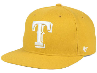 Texas Rangers '47 MLB '47 Wheat Sure Shot Snapback Cap