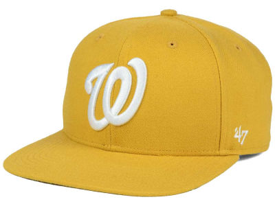 Washington Nationals '47 MLB '47 Wheat Sure Shot Snapback Cap
