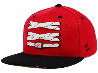 Detroit Red Wings Zephyr NHL Lacer Skate Snapback Hat