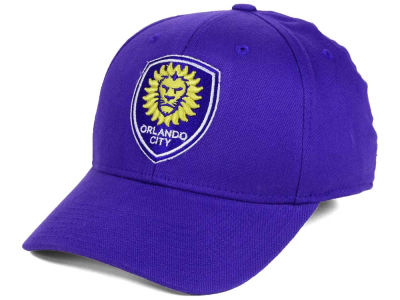 Orlando City SC adidas MLS Basic Flex Cap