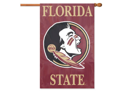 Florida State Seminoles Applique House Flag