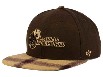 Dallas Mavericks '47 NBA '47 Alpaca Snapback Cap