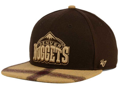 Denver Nuggets '47 NBA '47 Alpaca Snapback Cap