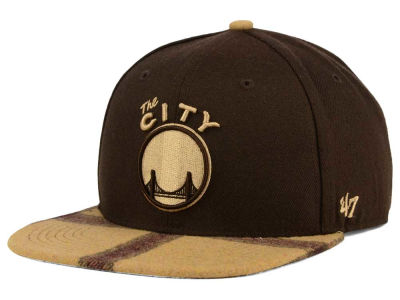 Golden State Warriors '47 NBA '47 Alpaca Snapback Cap