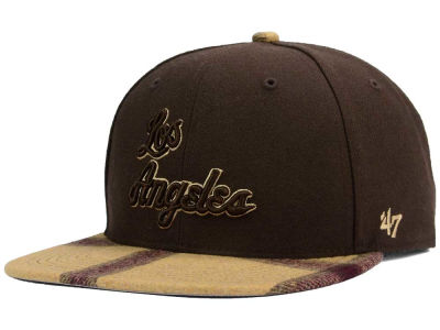 Los Angeles Lakers '47 NBA '47 Alpaca Snapback Cap