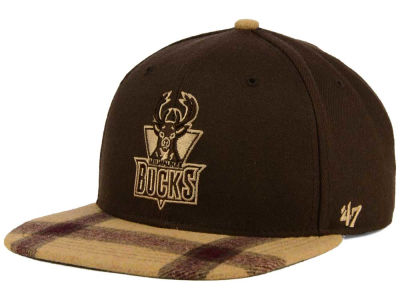 Milwaukee Bucks '47 NBA '47 Alpaca Snapback Cap