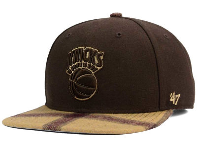 New York Knicks '47 NBA '47 Alpaca Snapback Cap