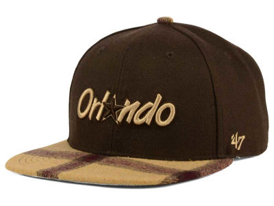 Orlando Magic '47 NBA '47 Alpaca Snapback Cap