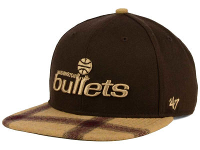 Washington Bullets '47 NBA '47 Alpaca Snapback Cap