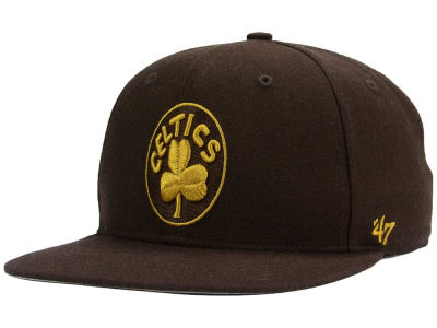 Boston Celtics '47 NBA HWC '47 Brown Sure Shot Snapback Cap