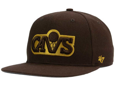 Cleveland Cavaliers '47 NBA HWC '47 Brown Sure Shot Snapback Cap