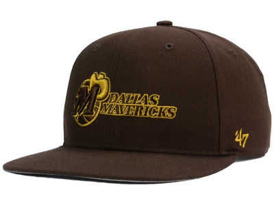 Dallas Mavericks '47 NBA HWC '47 Brown Sure Shot Snapback Cap