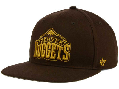 Denver Nuggets '47 NBA HWC '47 Brown Sure Shot Snapback Cap