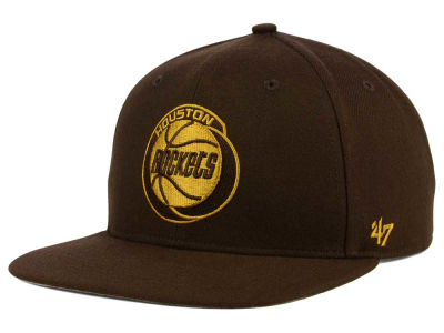 Houston Rockets '47 NBA HWC '47 Brown Sure Shot Snapback Cap